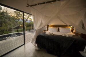 Zeer luxe slaapkamer